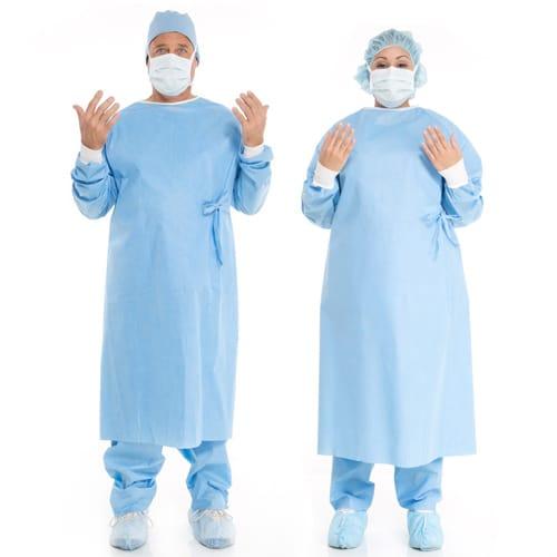 انواع گان جراح استریل